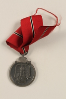 2002.327.7 front German Eastern Winter Campaign medal  Click to enlarge