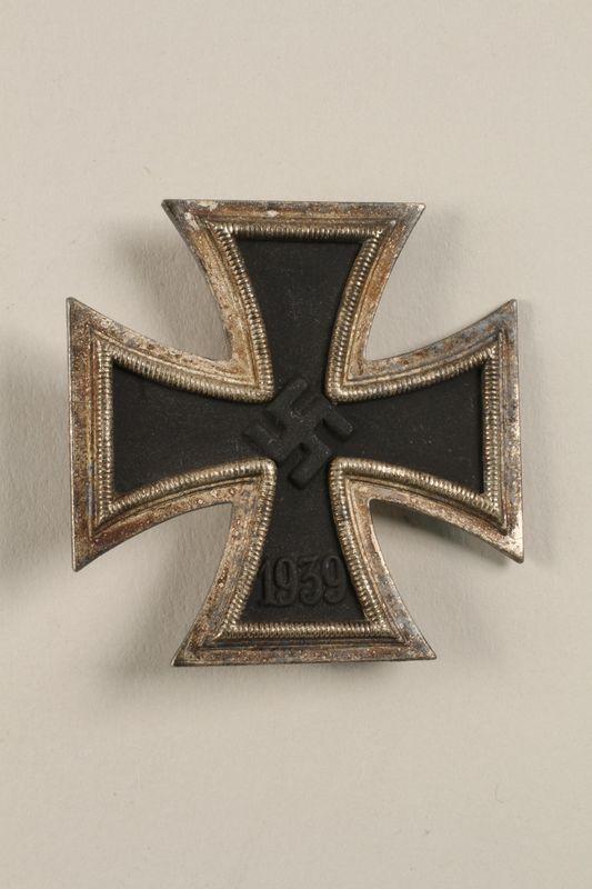 2002.327.16 front Iron Cross Pin