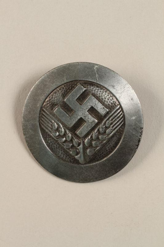 2002.327.23 front RAD pin