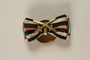 Honor Cross of the World War 1914/1918 buttonhole double ribbon bar with swords awarded to Jewish soldier