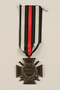 Honor Cross of the World War 1914/1918 combatant veteran service medal awarded to a German Jewish soldier