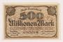 Remscheid 500 million mark note, saved by German Jewish refugee