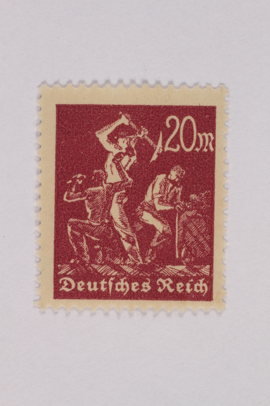 2000.305.1 front Postage stamp