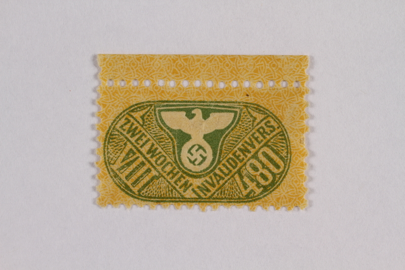 2000.305.5 front Postage stamp