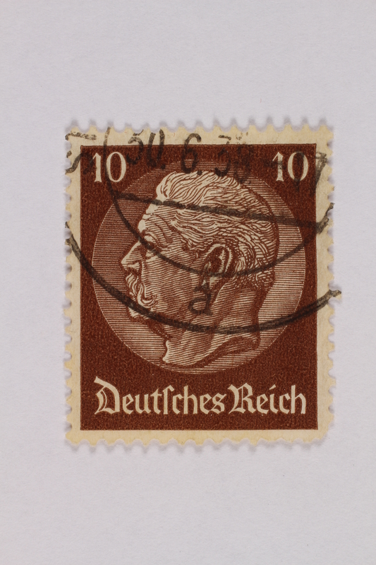 2000.305.6 front Postage stamp