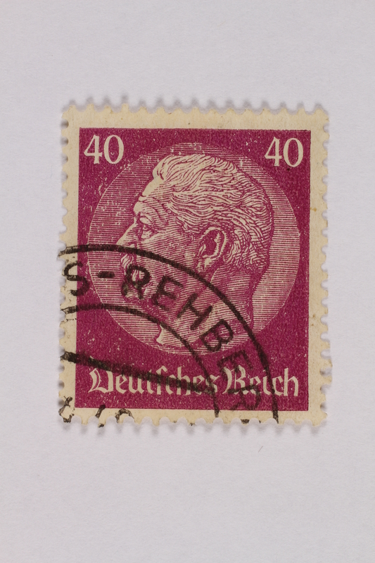 2000.305.8 front Postage stamp
