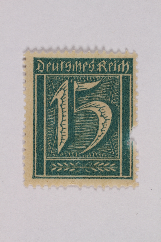 2000.305.9 front Postage stamp