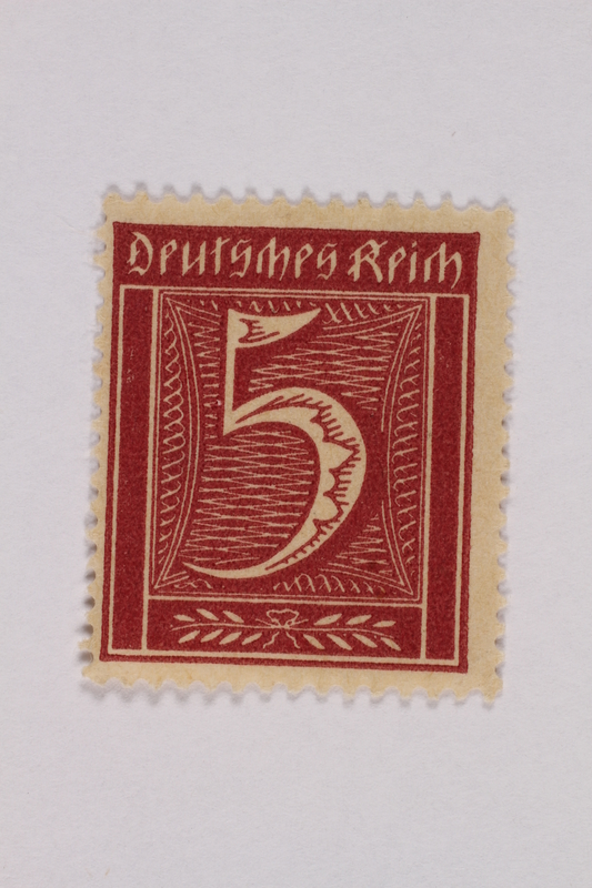 2000.305.12 front Postage stamp