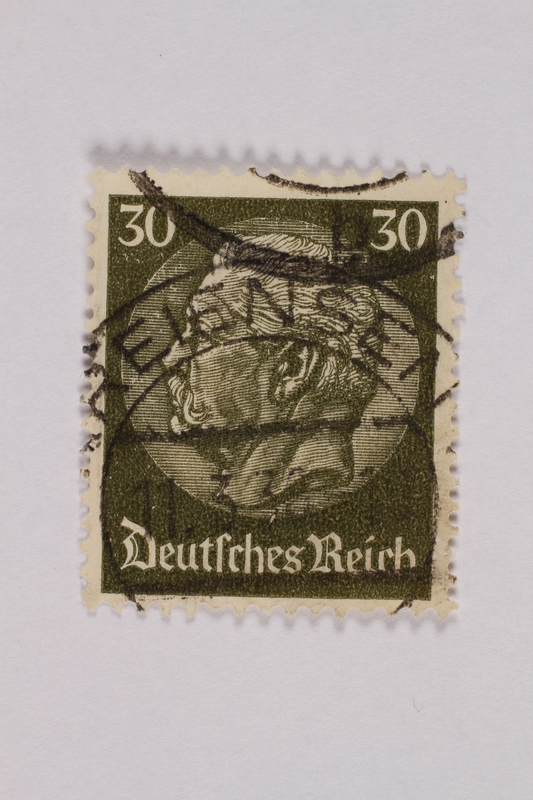 2000.305.13 front Postage stamp