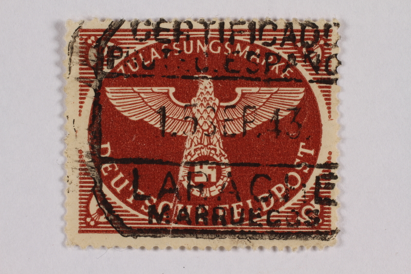 2000.305.18 front Postage stamp