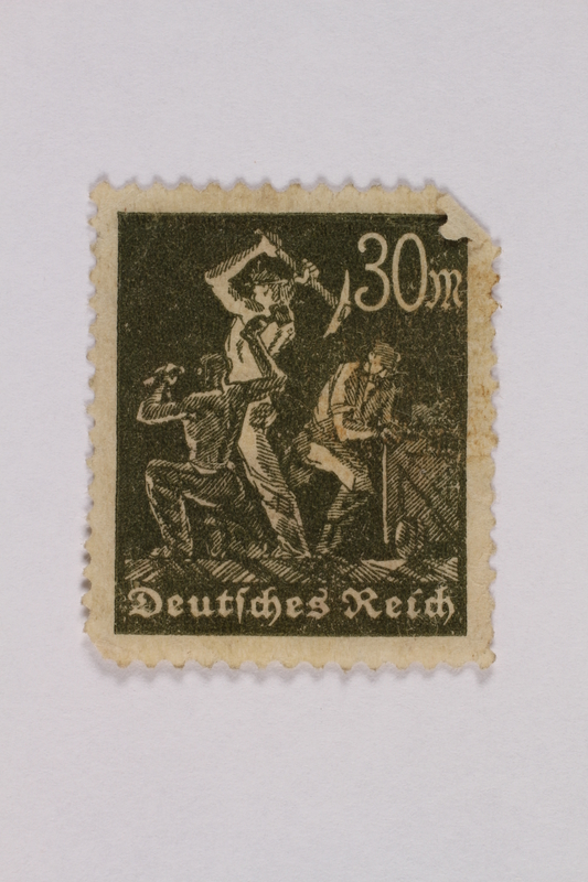 2000.305.21 front Postage stamp