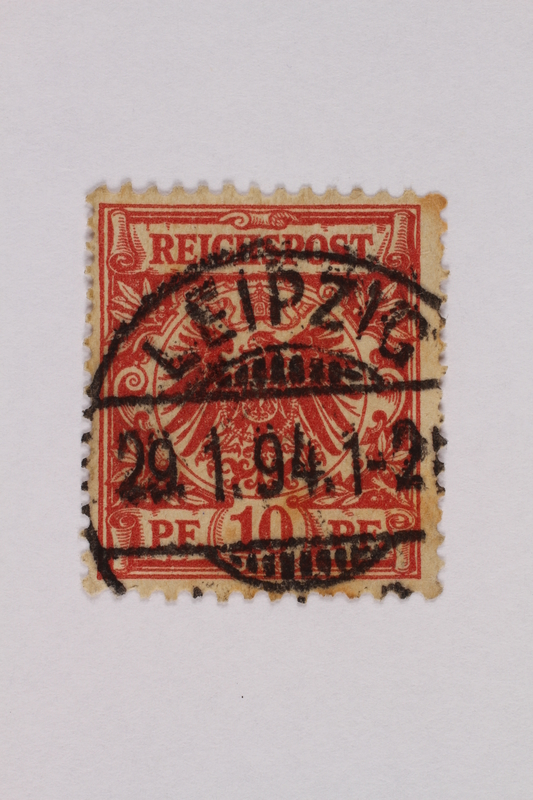 2000.305.22 front Postage stamp