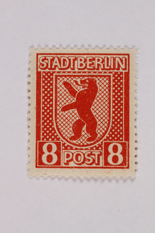 2000.305.23 front Postage stamp