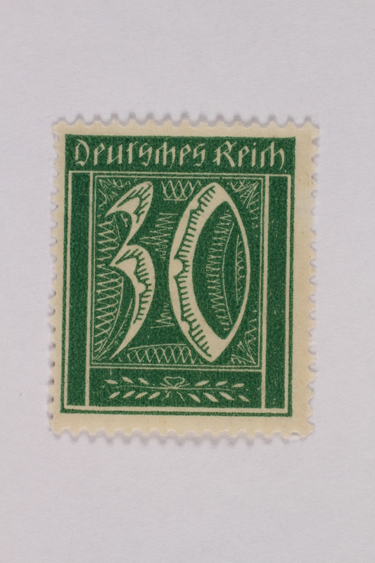 2000.305.25 front Postage stamp
