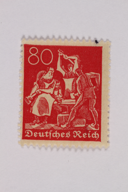 2000.305.30 front Postage stamp