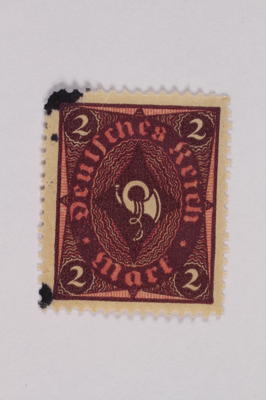 2000.305.32 front Postage stamp