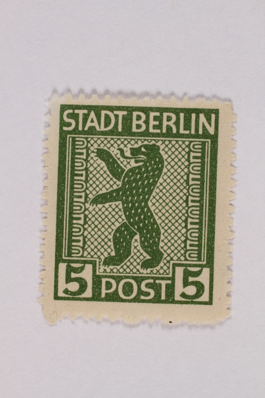 2000.305.33 front Postage stamp