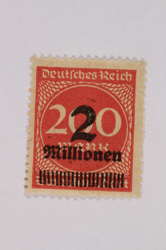 2000.305.36 front Postage stamp
