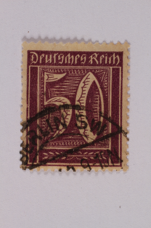 2000.305.38 front Postage stamp