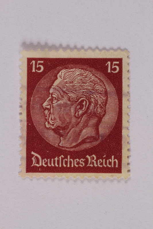 2000.305.40 front Postage stamp