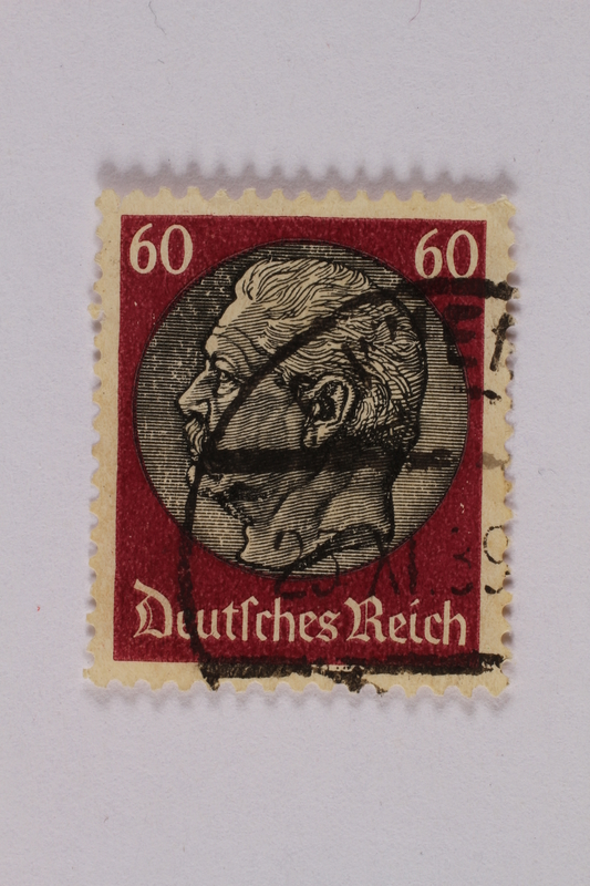 2000.305.41 front Postage stamp