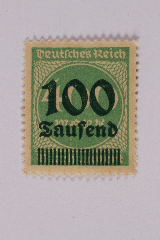 2000.305.42 front Postage stamp