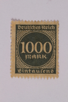 2000.305.43 front Postage stamp  Click to enlarge