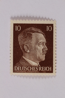 2000.305.47 front Postage stamp  Click to enlarge