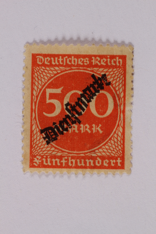2000.305.53 front Postage stamp