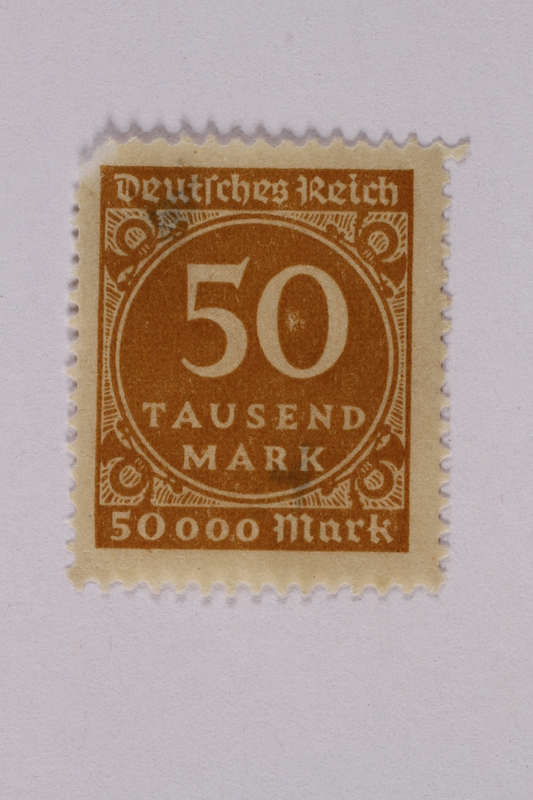 2000.305.55 front Postage stamp