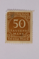 2000.305.55 front Postage stamp  Click to enlarge