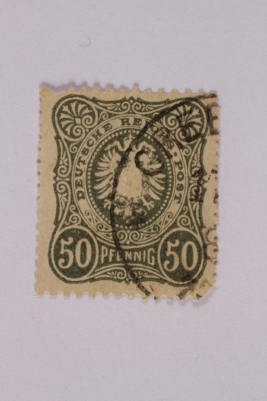 2000.305.56 front Postage stamp