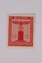Postage stamp, 12 pfennig, from the Official Series of 1938 issued by Nazi Germany