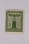 Postage stamp, 5 pfennig, from the Official Series of 1938 issued by Nazi Germany