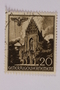 Postage stamp, 20 zloty, featuring the Dominican Church, Krakow, issued in German occupied Poland