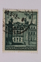 Postage stamp, 1 zloty, featuring Bruhlsche Palace, Warsaw, issued in German occupied Poland