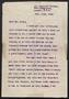 Itzik Manger letter, 1943, October 13