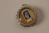 2001.62.6_a closed Religious medallion with an image of Dr. Edith Stein  Click to enlarge
