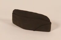 2003.149.5 front Officer's garrison cap worn by German Jewish US soldier  Click to enlarge