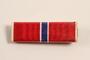 Bronze Star ribbon bar awarded to a Jewish German US soldier