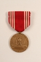 Good Conduct medal and ribbon issued to a German Jewish German US soldier