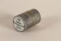 Agfa metal film canister used by a German Jewish US soldier