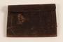 Dark brown leather document wallet used by German Jewish US soldier