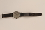 Novoris leather wrist watch worn by German Jewish emigre and US soldier