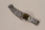 Stainless steel wrist watch owned by German Jewish emigre and US soldier