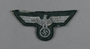 Wehrmacht silver bullion eagle insignia patch acquired by German Jewish US soldier