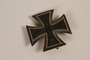 Iron Cross, 1st class, medal from WWII acquired by a Jewish German emigre and US soldier
