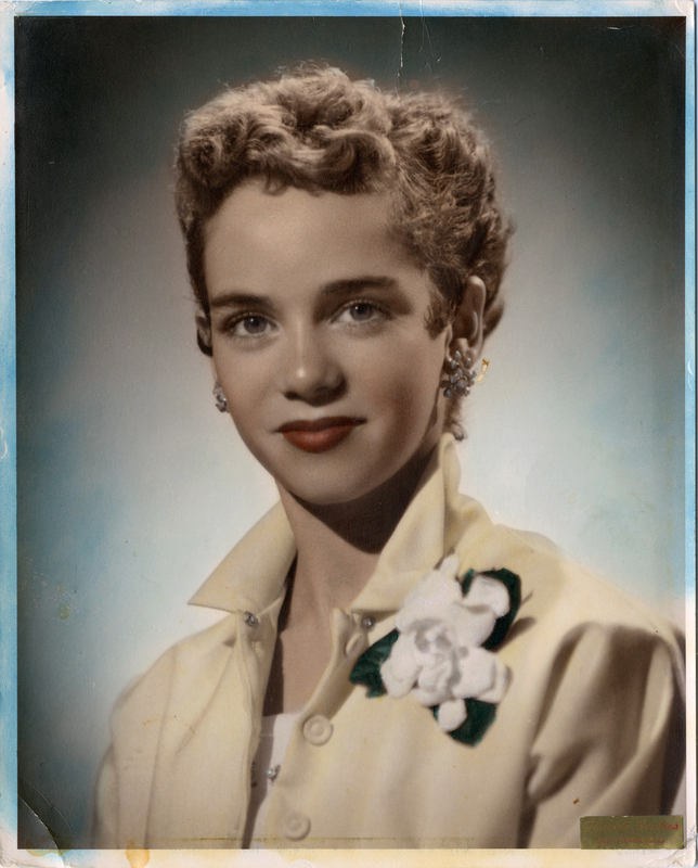 Portrait of Ruth Haneman; San Francisco, CA; c. 1949 Eckstein and Haneman family papers