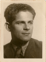 Anatol Kaufman, brother of Gershon Kaufman, born in 1911.  He survived the Holocaust in the USSR and immigrated to Israel in 1958. Shmuel and Miriam Kaufman Collection  Click to enlarge