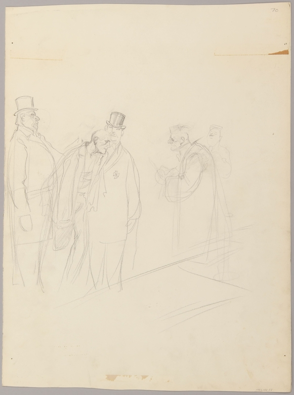 1991.182.2 back Anti-Nazi drawing published in the PM newspaper
